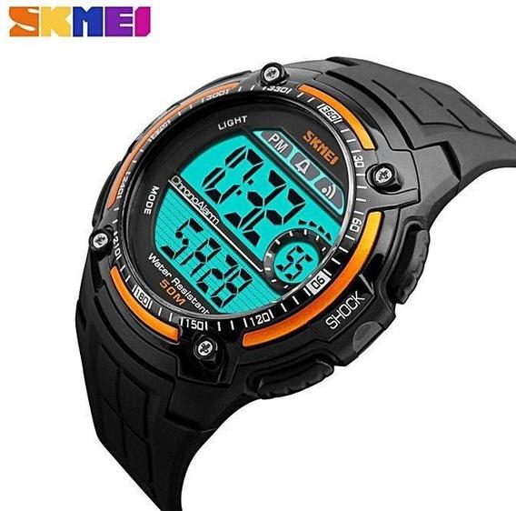 Relógio Skmei Led Sport Digital Prova Dágua Barato Promoção