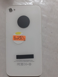 Tapa Trasera De iPhone 4 Nueva Blanca