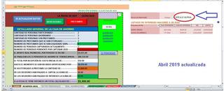 Plantilla Excel Para Llevar Una Caja De Ahorro, Efectiva.
