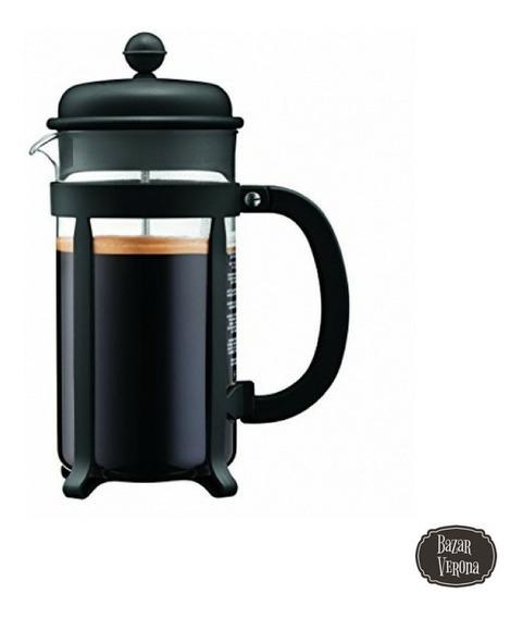 Cafetera Bodum Java Embolo 8 Pocillos Original Con Medidor