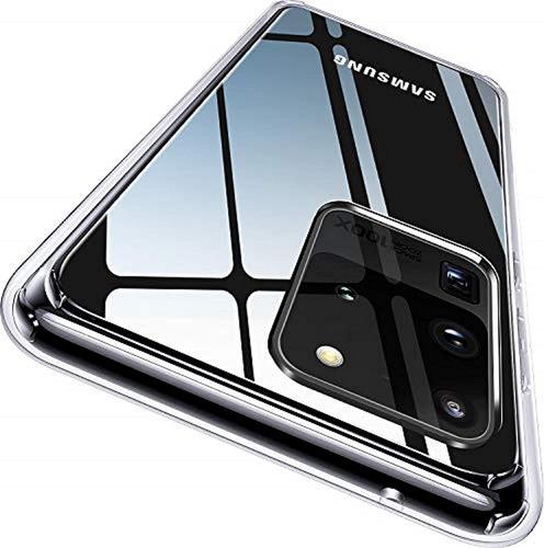 Carcasa Clear + Vidrio 3d Galaxy S20 Fe Transparente