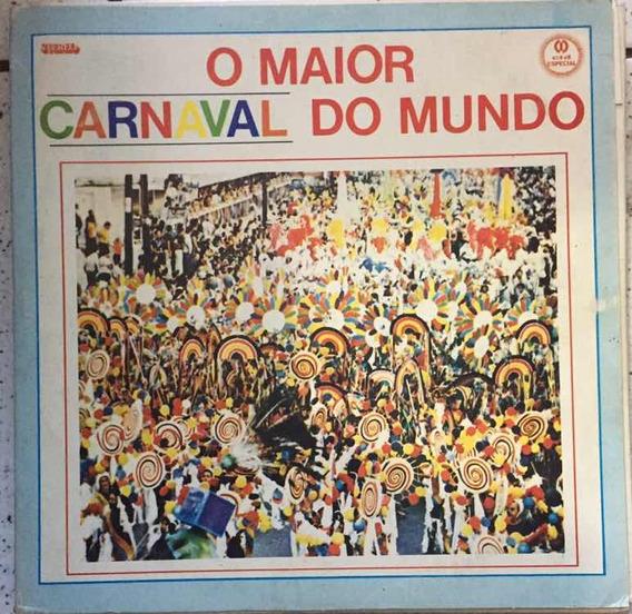 Lp O Maior Carnaval Do Mundo - Box 6 Lps