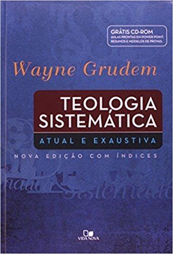 Teologia Sistemática + Cd Room Wayne Grudem Frete Gratis
