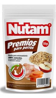 Premios Para Perros Nutam 100% Naturales Manzana Pollo