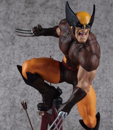 Imagem 1 de 5 de Wolverine Premium Format Tianbaotoys - 24 Cm Estatua