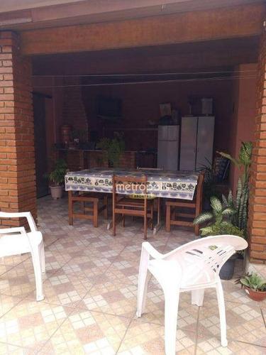 Imagem 1 de 20 de Cobertura À Venda, 154 M² Por R$ 448.000,00 - Vila Camilópolis - Santo André/sp - Co0467