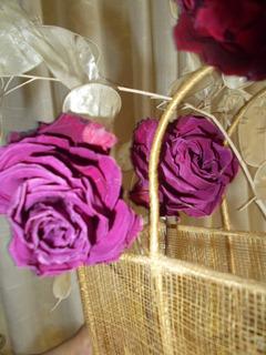 Flores Naturales Rosas Disecadas De Bariloche Disecadas