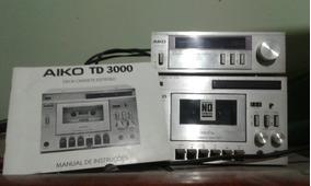 Tape E Tuner Com Manual Aiko Td 3000 Em Bom Estado