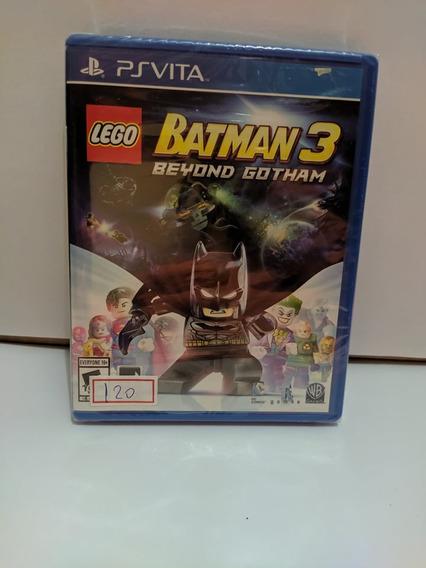 Jogo Psvita Lego Batman 3 Beyond Gotham Ps Vita Lacrado