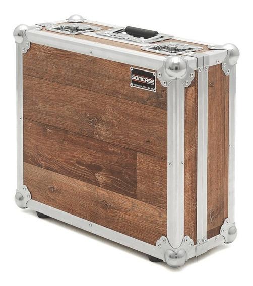 Hard Case Toca Disco Audio Technica At-lp120-usb - Vintage