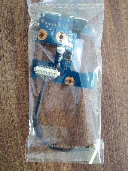 Placa Usb Samsung Ba92-09836a Np500p4ch