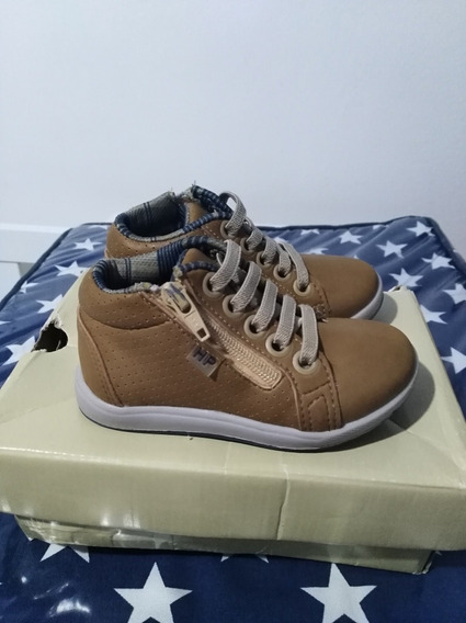 Zapatillas Hush Puppies Talle 20 Camel