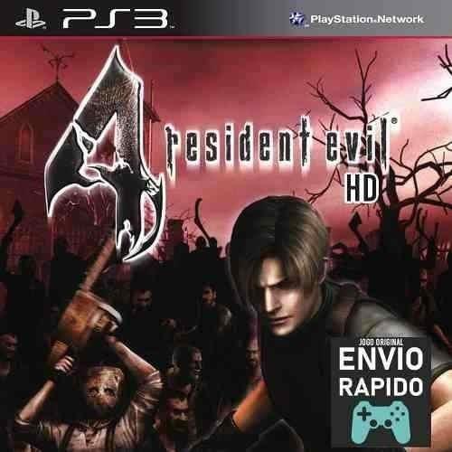 Resident Evil 4 Em Hd Jogos Ps3 Original