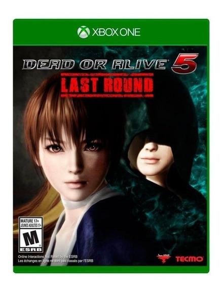 Dead Or Alive 5 Last Round - Midia Fisica Lacrado - Xbox One