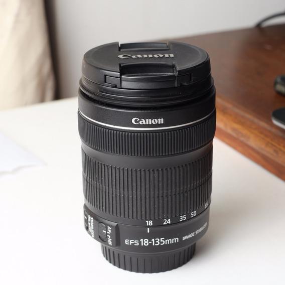 Lente Canon Ef-s 18 - 135mm Stm