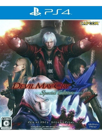 Devil May Cry 4 Special Edition Original 2 Aluquel 30 Dias+2
