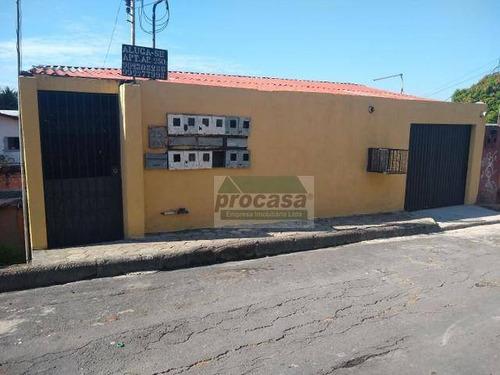 Casa Com 5 Dormitórios À Venda, 500 M² Por R$ 220.000 - Cidade Nova - Manaus/am - Ca4062