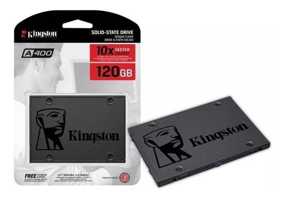 Hd Notebook Ssd Kingston 120gb 500mbps A400 Sata 3 Nfe
