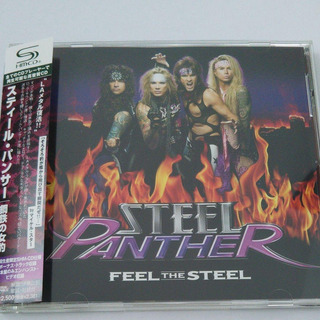 Steel Panther - Feel The Steel Japan Cd Bon Jovi Guns N Rose
