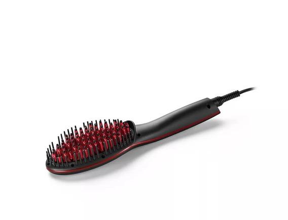 Escova Alisadora Beauty Bivolt Preta Eb018 Multilaser