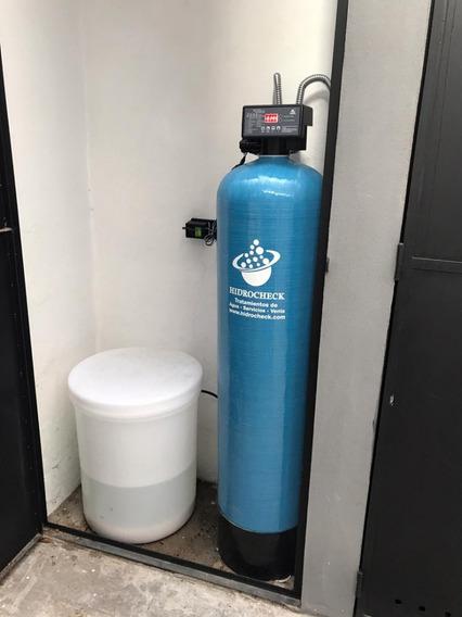 Ablandador De Agua Automatico 50 Lts Por Caudal Hidrocheck