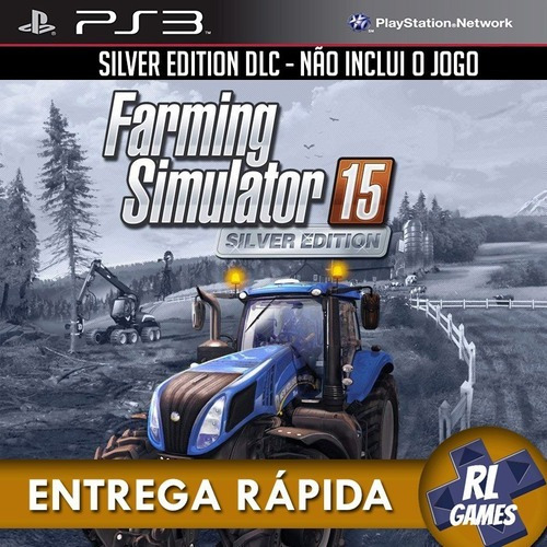 Ps3 Psn* - Official Expansion (silver) Faming Simulator 15
