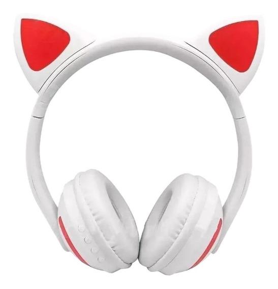 Fone de ouvido sem fio Exbom HF-C240BT branco