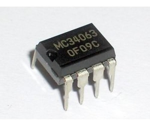 Mc34063 Dip 8 Kit C/10pçs