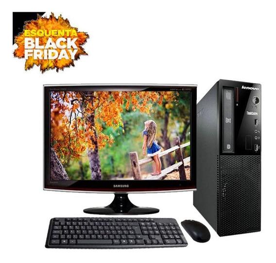 Computador Lenovo Intel I3 8gb Hd500gb Vitrine Black Friday