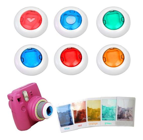 Filtros Colorido De Efeito P/instax 9, 8, 8+, 7 Close Up