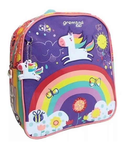 Mochila Gremond Kids Jardin Escolar Unicornio 3 Años De Garantia Oficial 5450100 Mapleweb