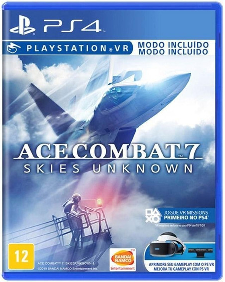 Ace Combat 7 Skies Unknown Ps4 Lacrado Novo Mídia Física