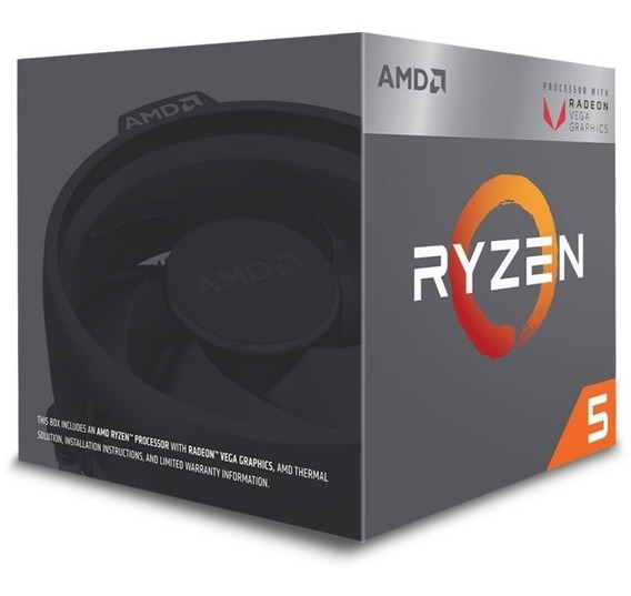 Processador Cpu Amd Am4 Ryzen R5-1600 3.6ghz/19mb
