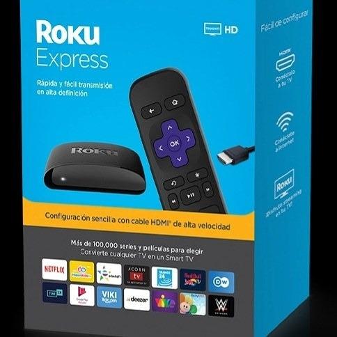 Equipo Roku Express Convierte Tu Tv En Un Smart Tv