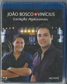 Blu-ray - Jõao Bosco & Vinicius Coração Apaixonou -ao Vivo