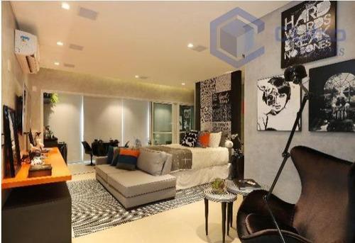 Imagem 1 de 20 de Studio, 56 M² - Venda Por R$ 905.000,00 Ou Aluguel Por R$ 5.000,00/mês - Vila Regente Feijó - São Paulo/sp - St0005