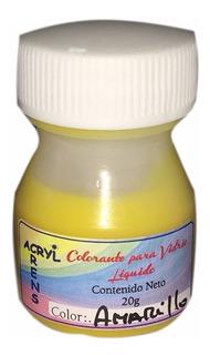 1 Colorante Pigmento P Vidrio Liquido O Resina Epoxi Cristal