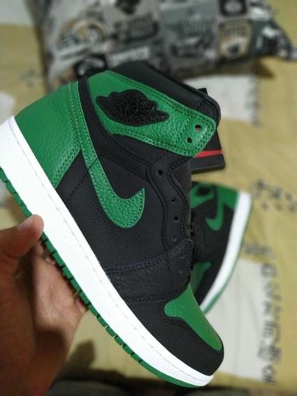 Tênis Nike Air Jordan 1 Pine Green