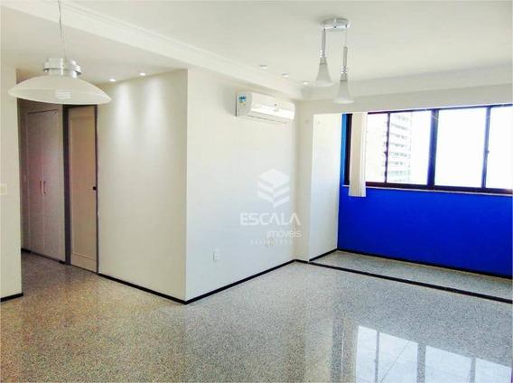 Apartamento Com 2 Quartos À Venda, 52 M², Vista Mar, Financia,meireles - Fortaleza/ce - Ap1641