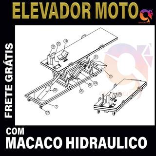 Projeto Elevador Para Moto Frete Grátis
