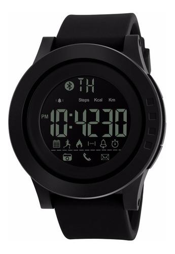 Reloj Inteligente Hombre Skmei 1255 Smart Bluetooth Negro