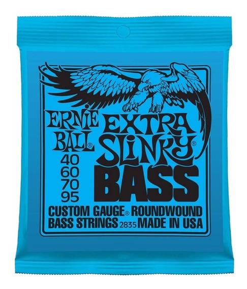 Encordado Bajo 4c Ernie Ball 040-095 Extra Slinky - Oddity