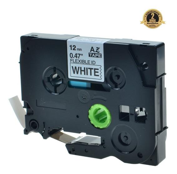 Fita Compativel Rotulador Brother Branca 12mm Tz Tze Fx231