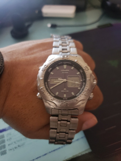 Citizen Eco Drive Word Time