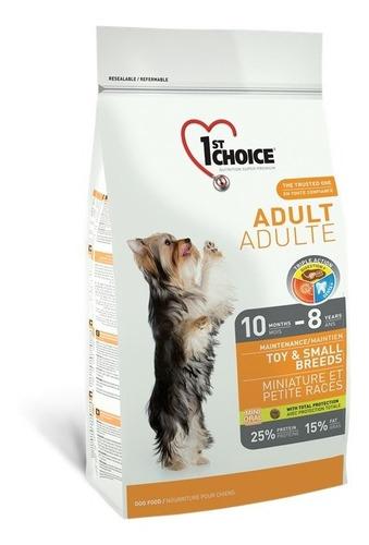 Alimento Perro Adulto 1st Choice Raza Pequeña Pollo 7 Kg