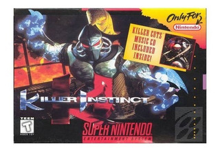Killer Instinct Garantia Super Nintendo Snes Usado Vdgmrs