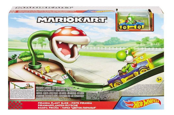 Pista Hot Wheels Mario Kart Nemesis Track