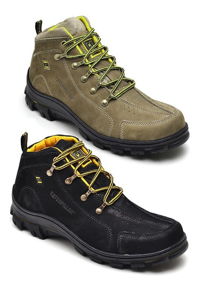 Bota Adventure Caterpillar Kit 2 Pares Frete Gratis