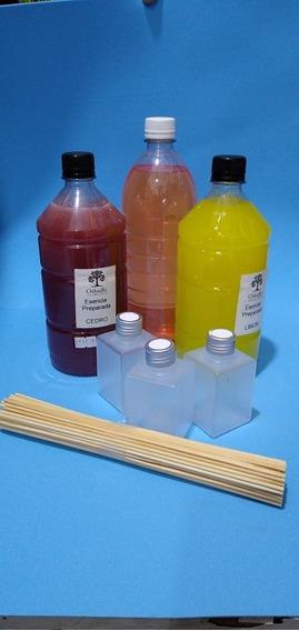 Kit Difusores Para Armar Envase Plástico 125 Cc