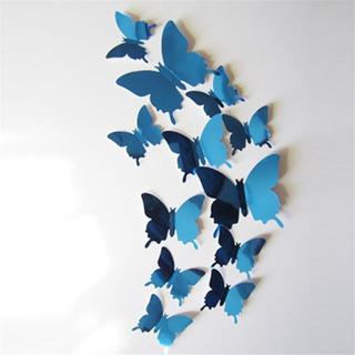 Mariposas Decorativas Azules - Boda Spa Estética Fiesta